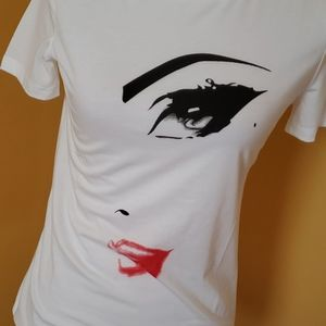 Tops - 2/$25 NWT trendy Lips tee